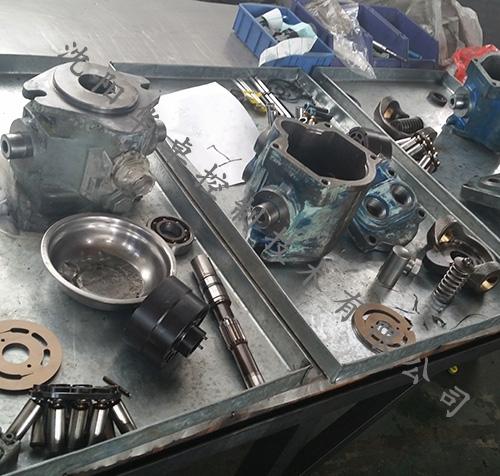 EH油泵检修