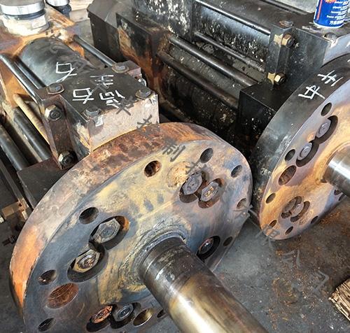 东汽600MW油动机检修