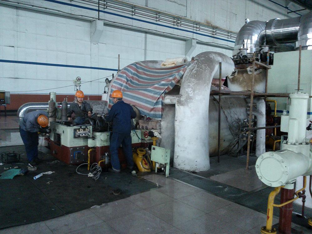 大同二电厂电调改造现场